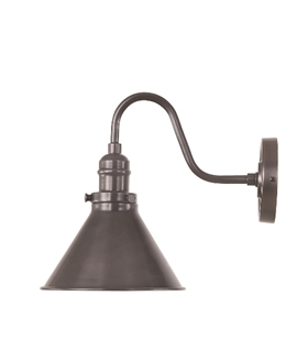 French Style Wall Bracket with Conical Shade