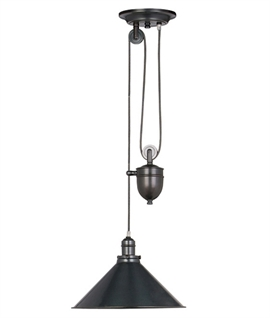 Stunning French Style Pendant with Rise and Fall Mechanism