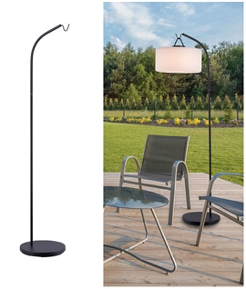 Exterior Floor Lamp Stand for Rechargeable Shades