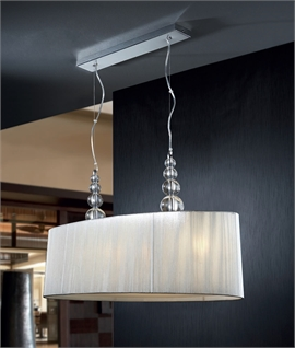 Stylish Wide Drum Pendant