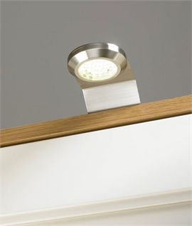 LED Stainless Steel Over Cabinet Light - IP44 Rated