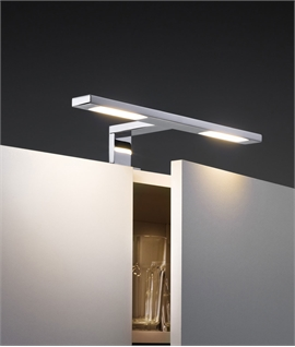 Modern Mains Dual LED Over Cabinet Light