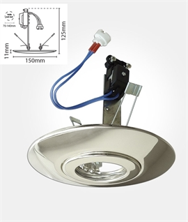 Dimmable LED Downlight Converter - Three Finishes