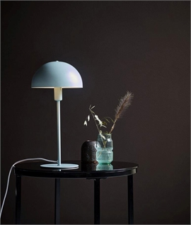 Scandinavian Table Lamp with Dome Shade