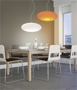 Modern LED Pendant with Colour Changing Option