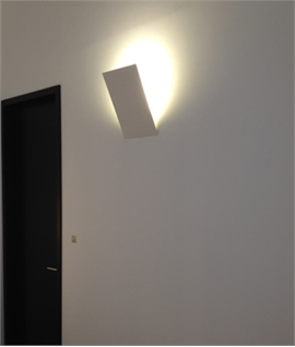Format A4 Plaster Wall Light with LEDs