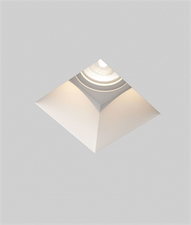 Trimless Plaster-in Downlight - Square