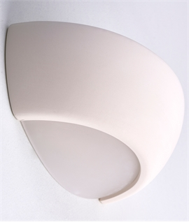 Affordable Plaster Wall Light for Uplighting