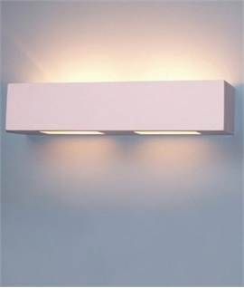 Lighting Out Of The Box - Plaster Wall Light