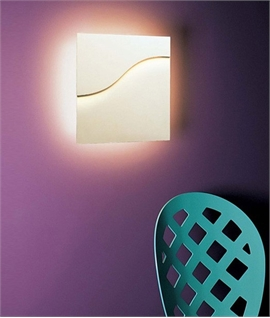 Nivid Square Plaster Wall Light
