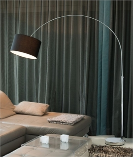 Adjustable Contemporary Floor Lamp With Shade