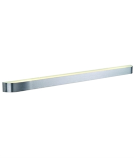 Brushed Aluminium Energy Saving Wall Light