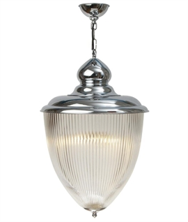 Prismatic Glass Interior Lantern