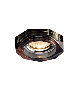 Crystal Downlight Deep Octagonal