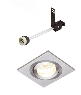 Recessed Adjustable Spotlight For GU10 Lamps