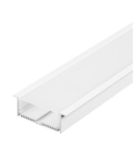 Recessed Aluminium Channels - White or Aluminium