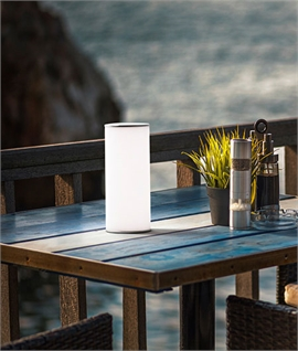 Rechargeable White Table Lamp with Gravity Sensor