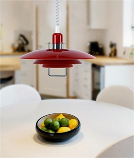 Genuine Scandinavian Rise and Fall Pendant in 11 Colours