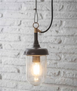 Old Style Hanging Fisherman Lantern IP44
