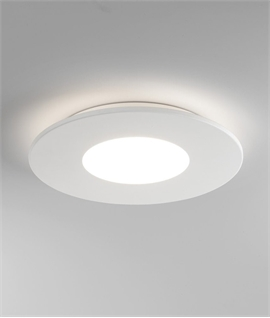 Back-Lit Low Profile Ceiling Light - Warm White LED Lamp