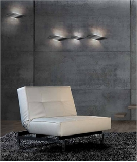 Twisted LED Wall Light - Two Sizes