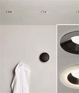 Sealed Low-Glare LED Bathroom Downlights That Glow