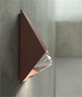 Edgy and Stylish Exterior Wall Light
