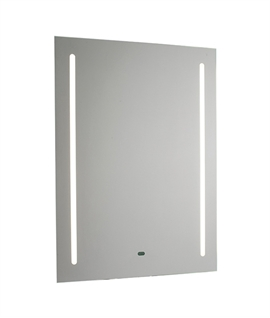LED Bathroom Mirror Built-in Shaver & Demister Pad 700mm x 500mm