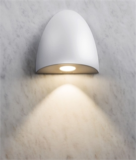 Bathroom Semi-Recessed Low Level Light - Designed for use in Wet Areas