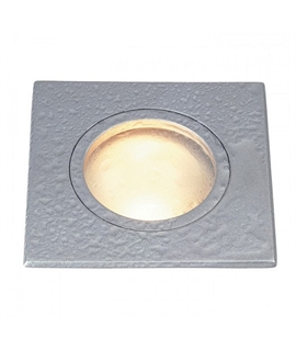 IP65 12 Volt Square Frosted Glass Downlight