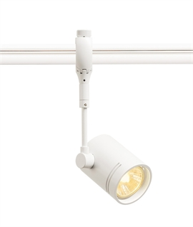 White Advanced Track Single Lamp Head