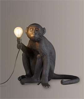 Monkey Table Light with LED Lamp - IP44 Rated