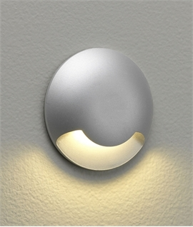 Button LED Wall or Ground Indicator Light