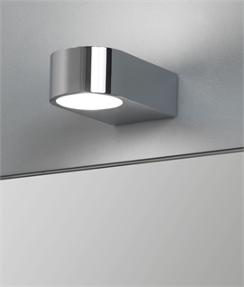 over mirror lighting. Bathroom Compact Wall Light - Splashproof Over Mirror Lighting O