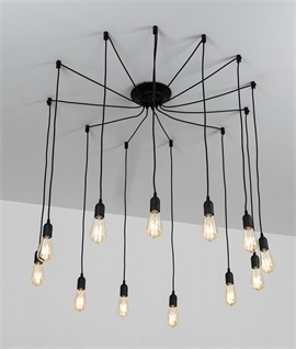Spider Ceiling Pendant - 12 Lamps