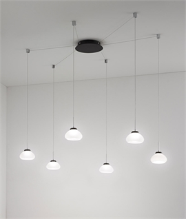 Modern LED Dimmable Spider Pendant - 3 Colours