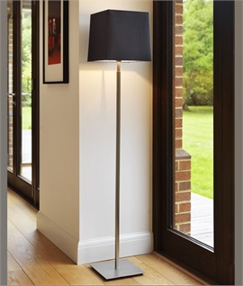Slim Floor Lamp with Square Base