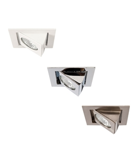 Square Scoop Downlight for GU10 Lamps
