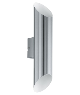 LED Up & Down Slim & Slanted Exterior Wall Light