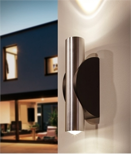 Stunning Tubular Up & Down Exterior Wall Washer