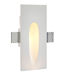 Recessed Plaster-In Wall Light - Two Designs