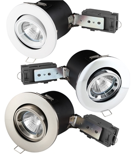 Fired Rated Downlights for 12v MR16 Lamps - Fixed & Tilt Adjustable