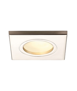 Square Mains Soffit Light - 4 Finishes