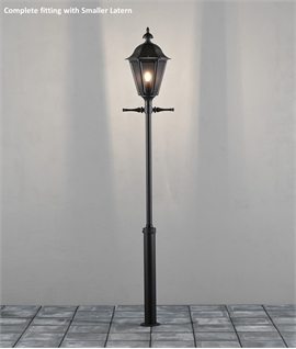 Stylish Exterior Lamp Post Different Height Options