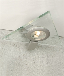 Triangular Glass Cabinet Light