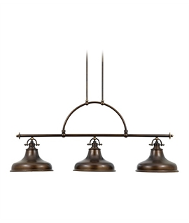 Triple Bar Island Or Dining Table Light