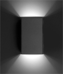 LED Exterior Up and Down Wall Light