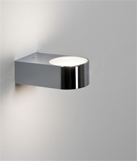 Bathroom Compact Wall Light - Splashproof