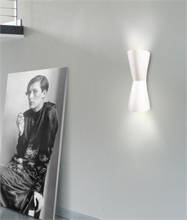 Tom Tom Plaster Up & Down Wall Light H: 410mm