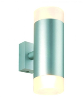 Up & Down Wall Light with Satin Glass